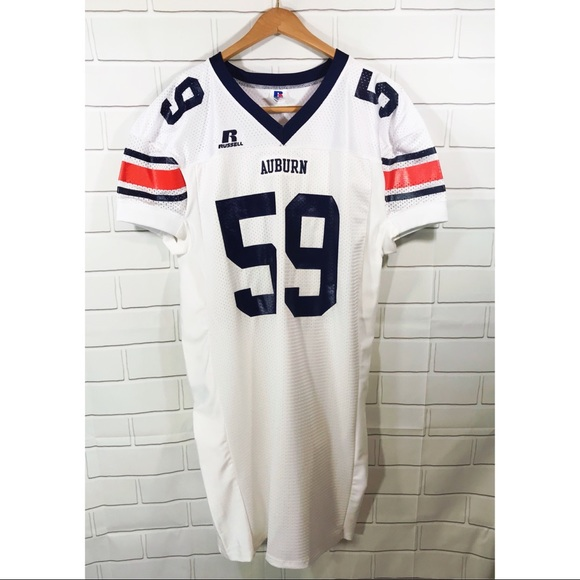 Auburn Tigers Authentic Game Worn Football Jersey